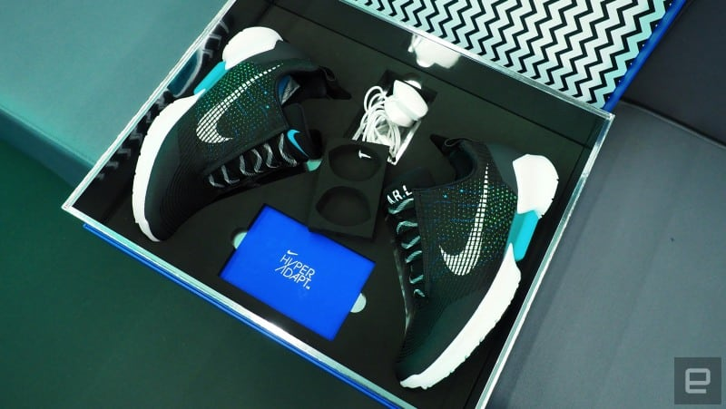 Nike s first self-lacing basketball shoes go on sale in 2019 for  350 0a9fb0e7d9