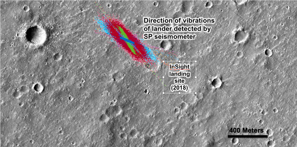 NASA InSight Wind Detection