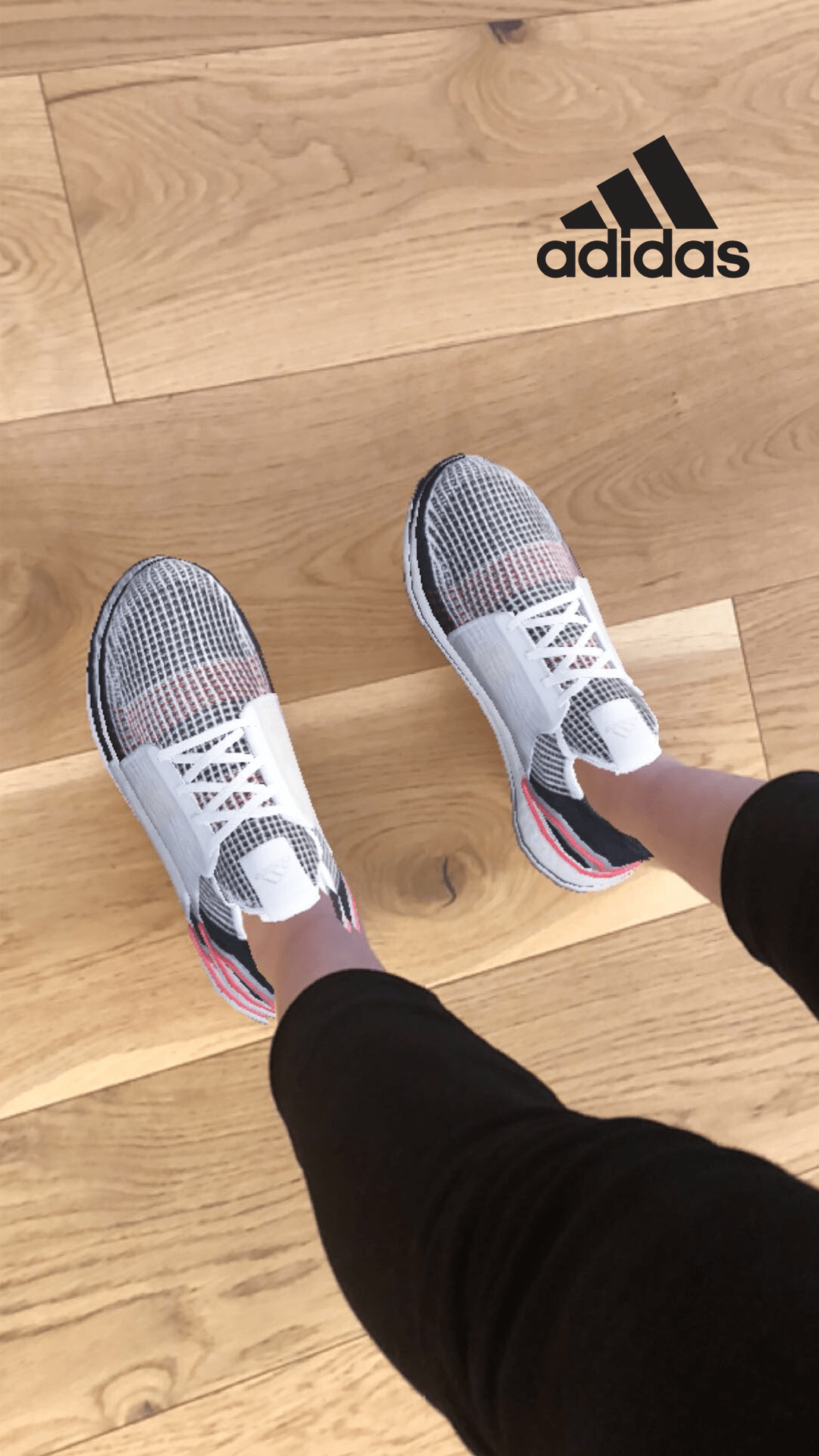 Adidas Ultraboost 19 try on