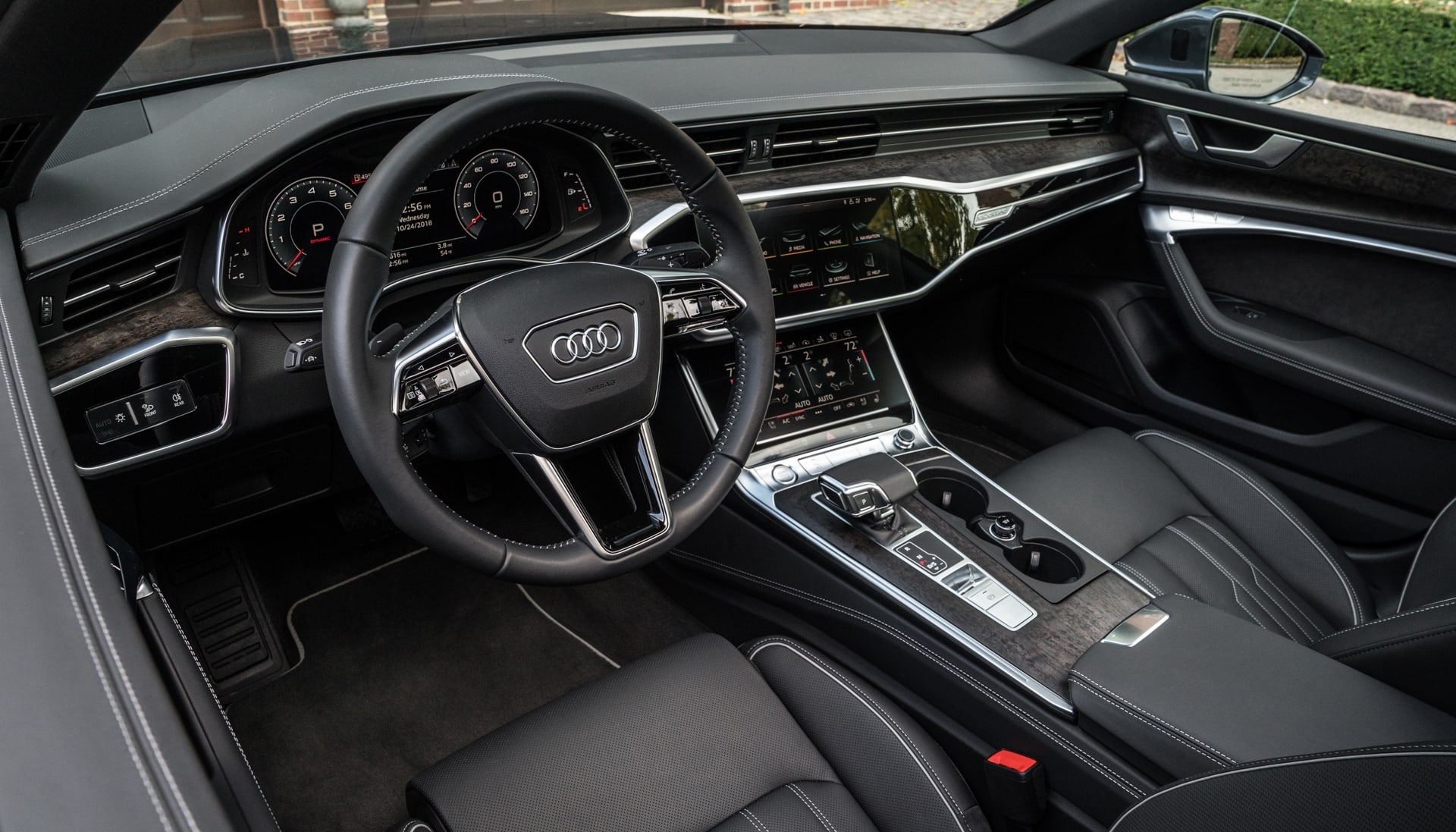 audi bets you ll pay extra for the a7 39 s design and tech. Black Bedroom Furniture Sets. Home Design Ideas