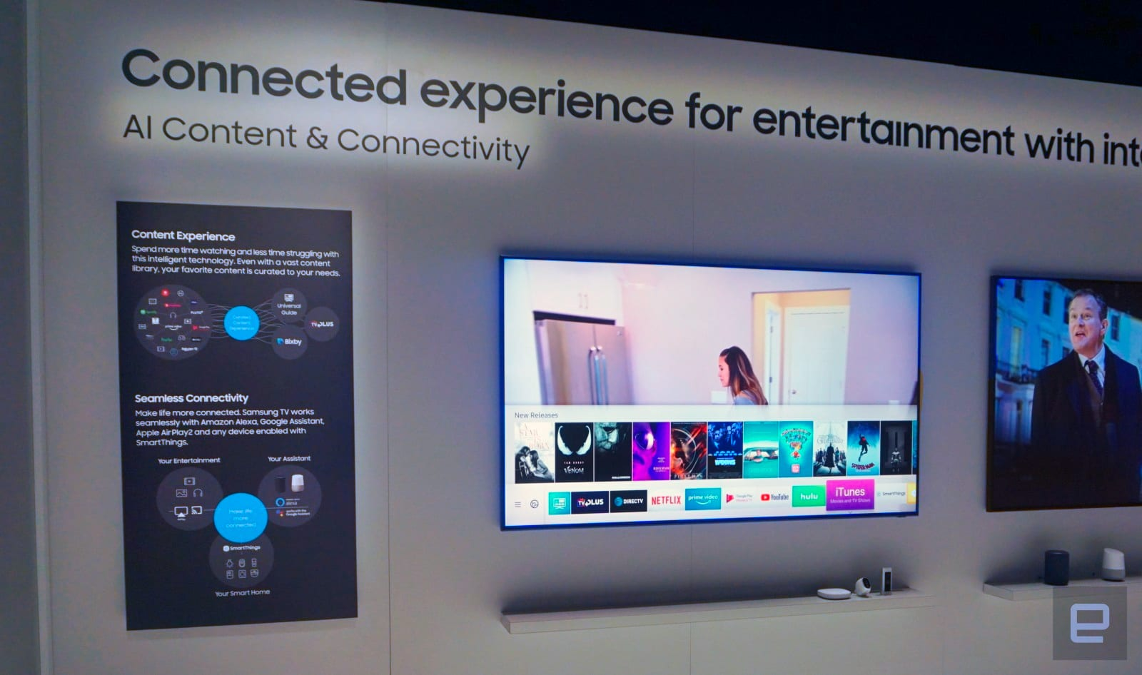 Samsung's newest TVs will work with Google Assistant and Alexa
