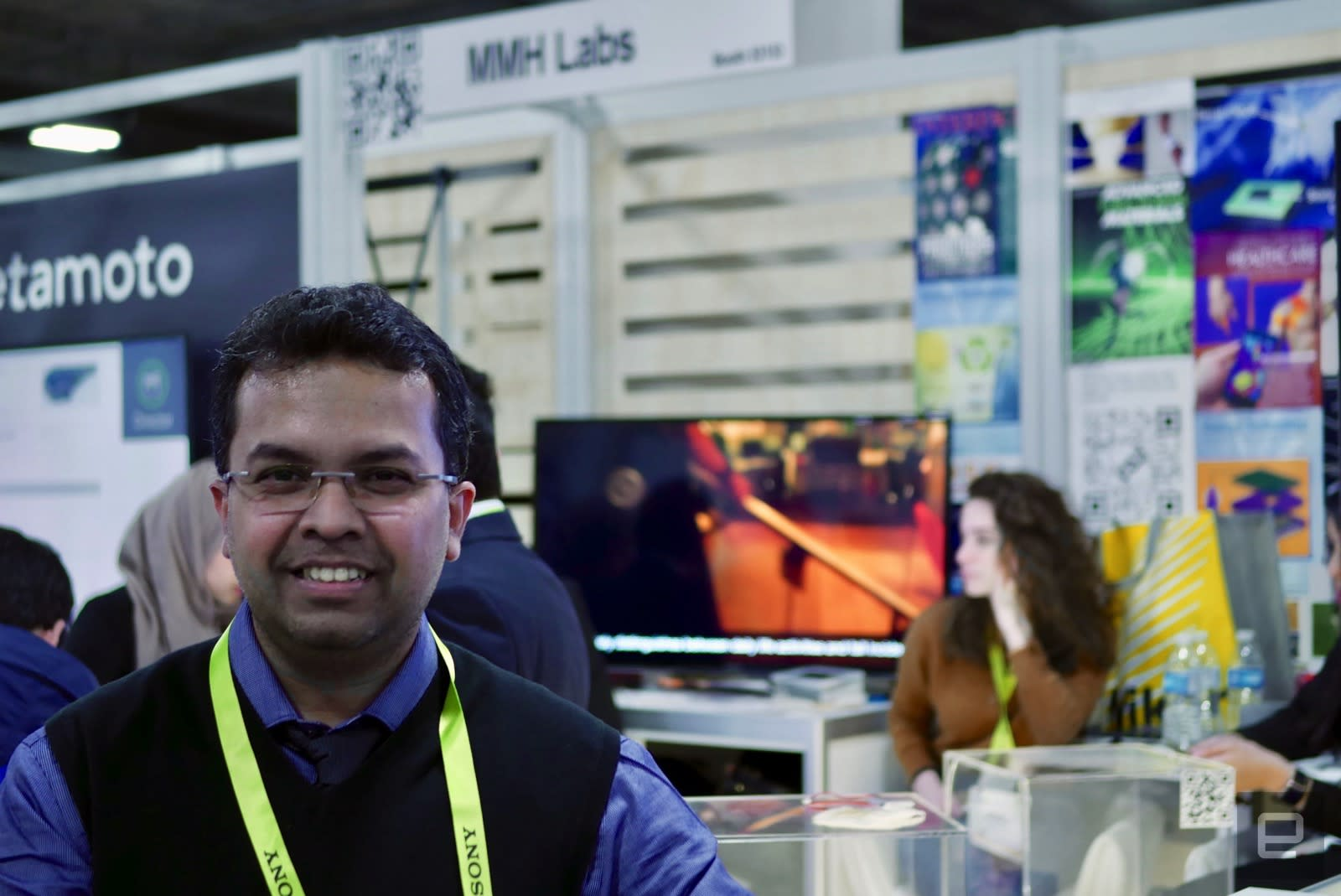 Muhammad Hussain of MMH Labs at CES