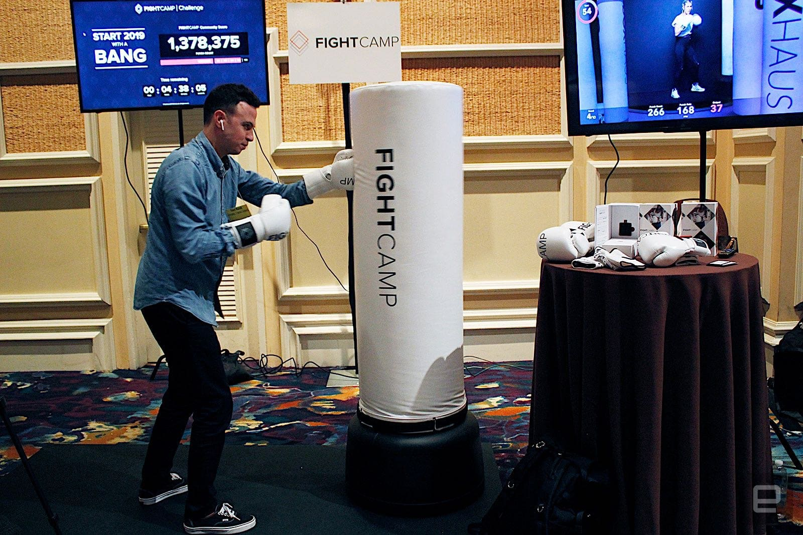 FightCamp is a home boxing gym for the fitness tracking generation