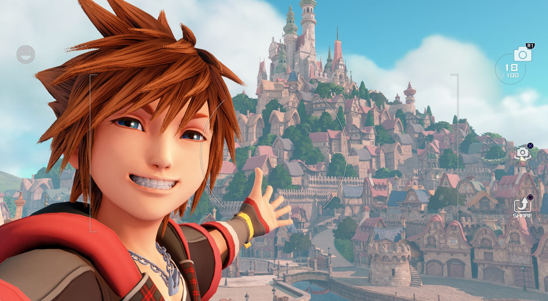 Sora is all about the 'gram in 'Kingdom Hearts 3'