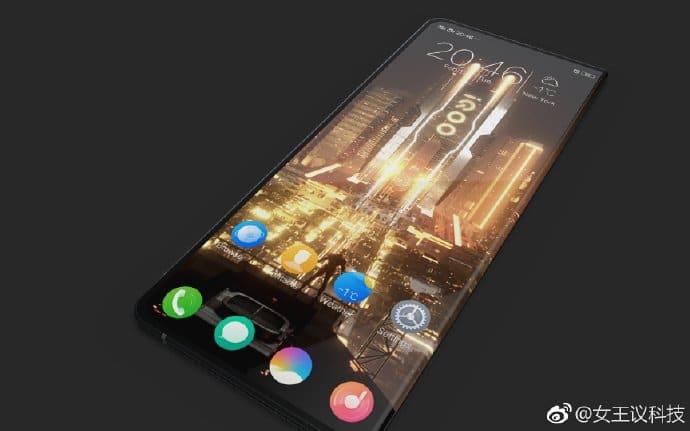iQOO foldable phone