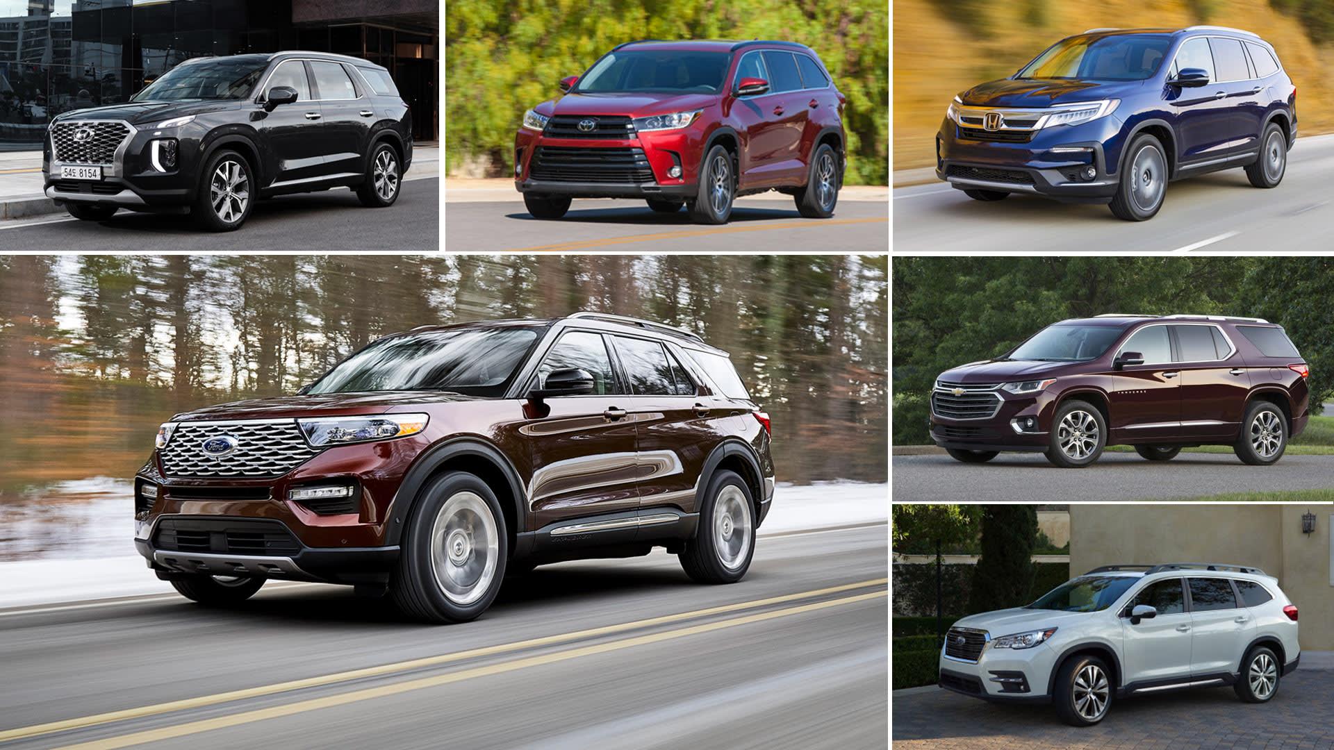 2020 Ford Explorer Comparison