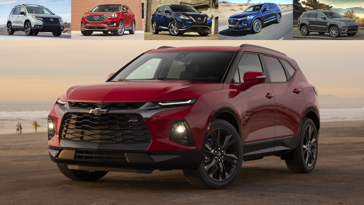 2019 Chevrolet Blazer and other crossovers