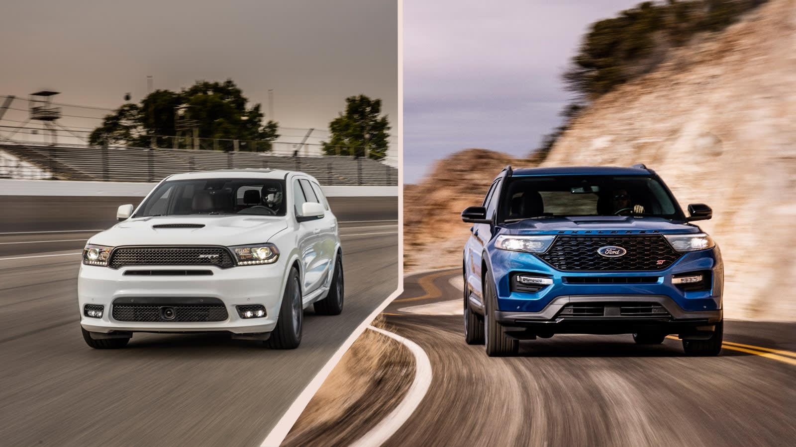 Dodge Durango SRT vs Ford Explorer ST