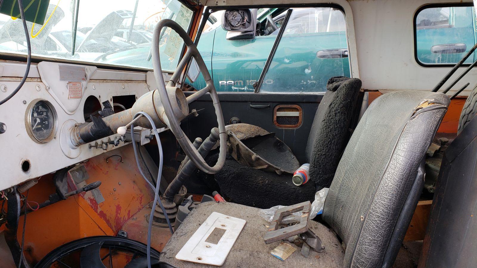 Junked 1961 International Harvester Scout