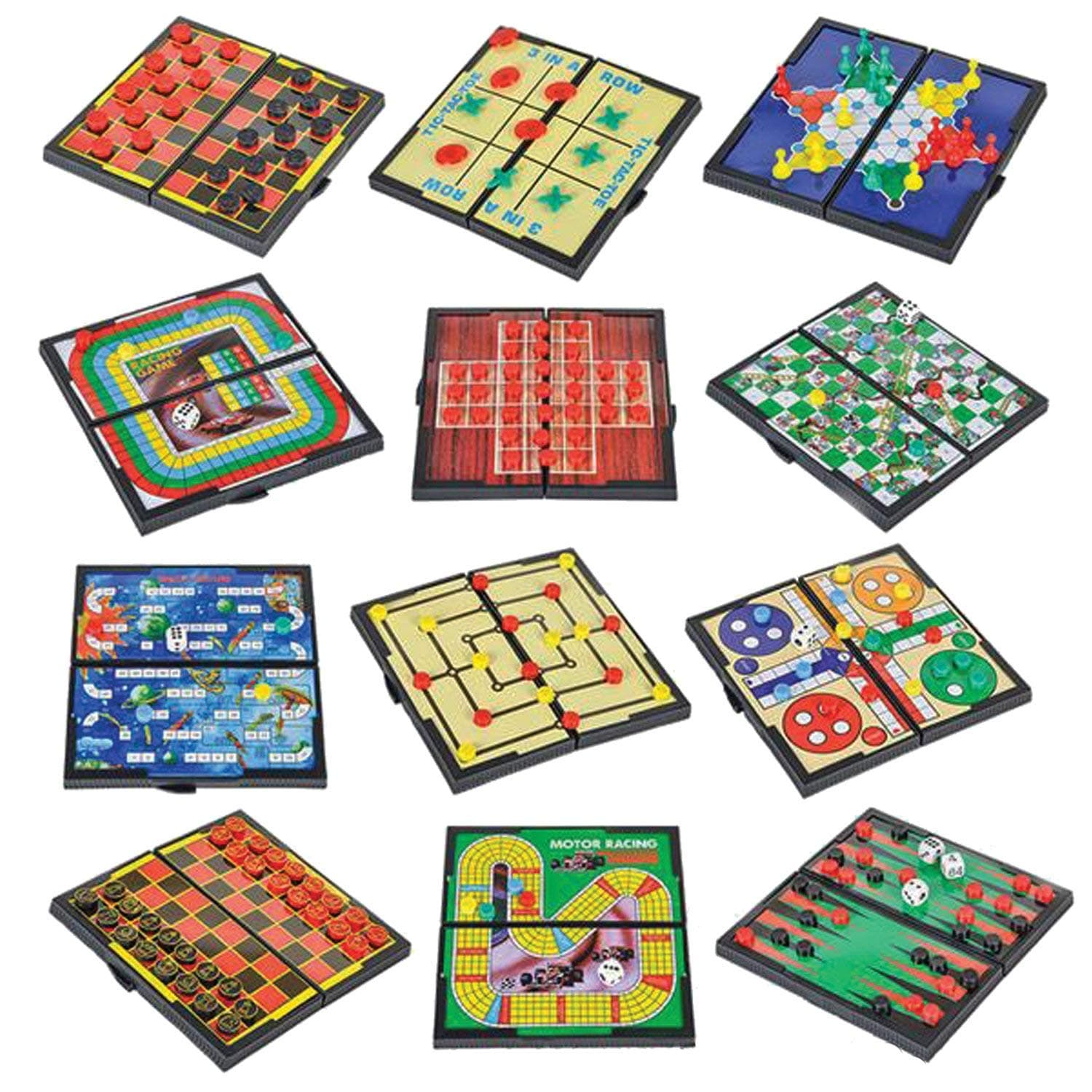Gamie Magnetic Board Games
