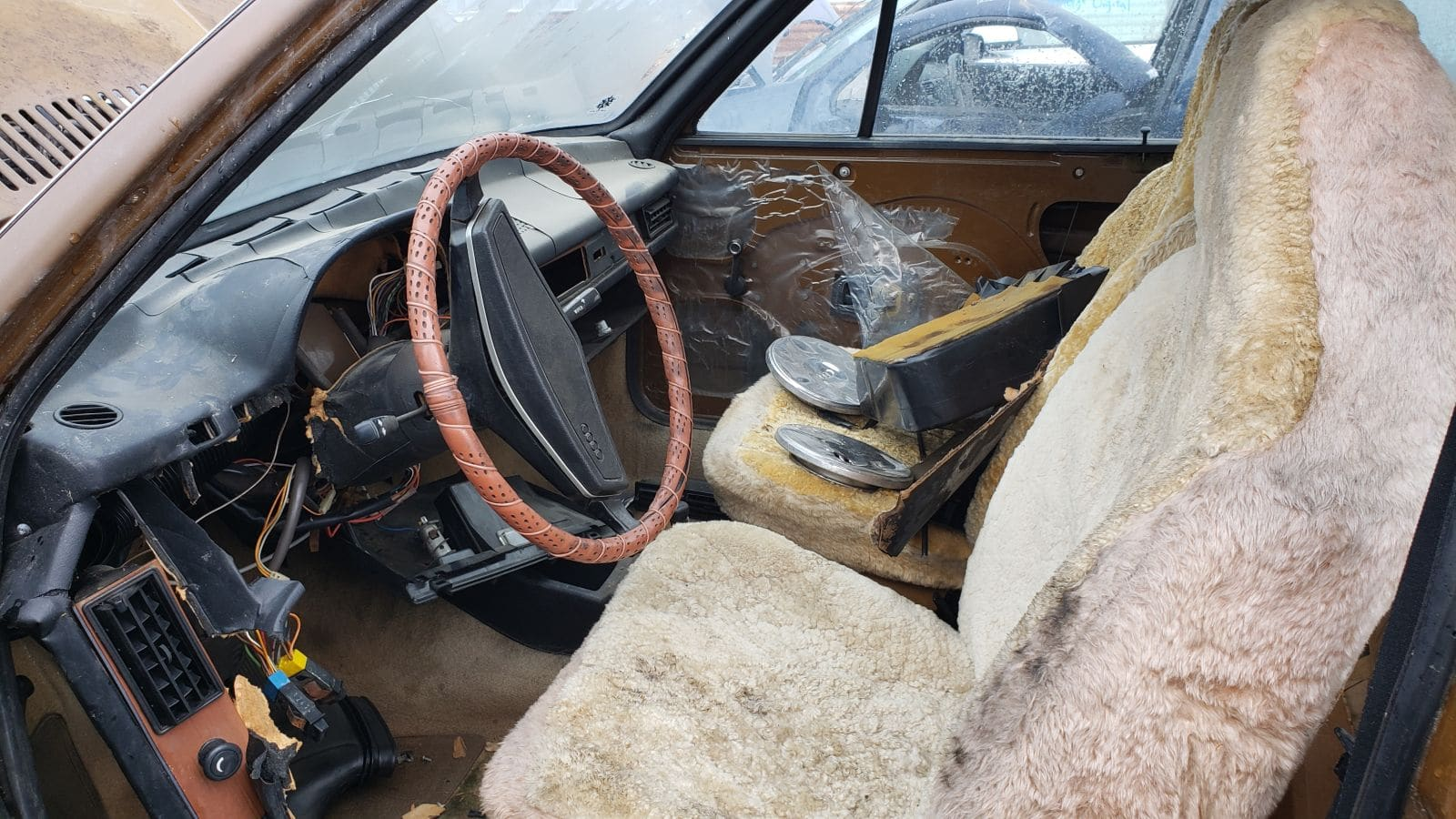 Junked 1973 Audi Fox