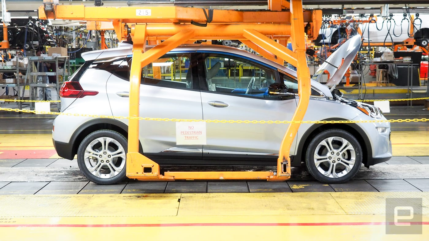 GM will build a new Chevrolet EV at its Orion plant