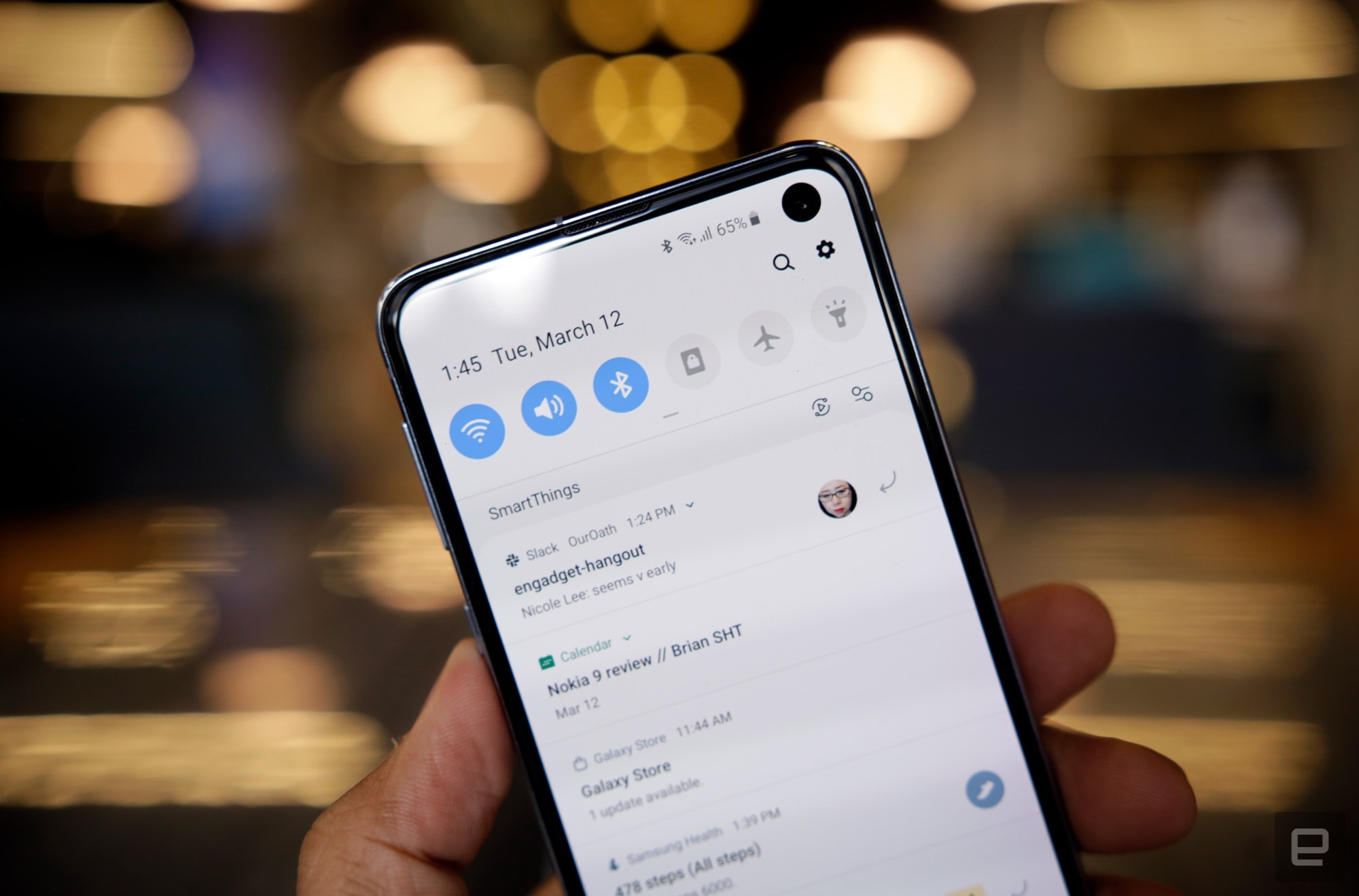 Samsung Galaxy S10e review: Smaller, but not lesser