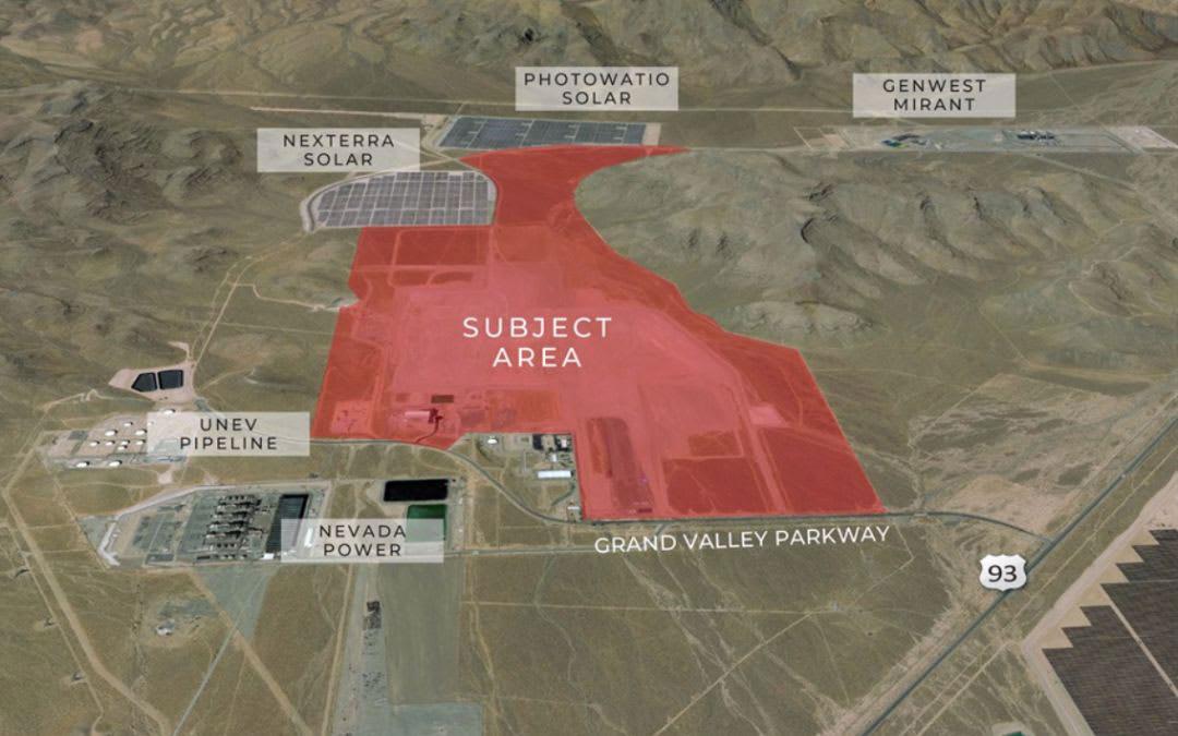 Faraday Future North Las Vegas site