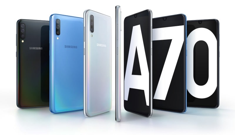 Samsung's Galaxy A70 has a huge display and 32-megapixel