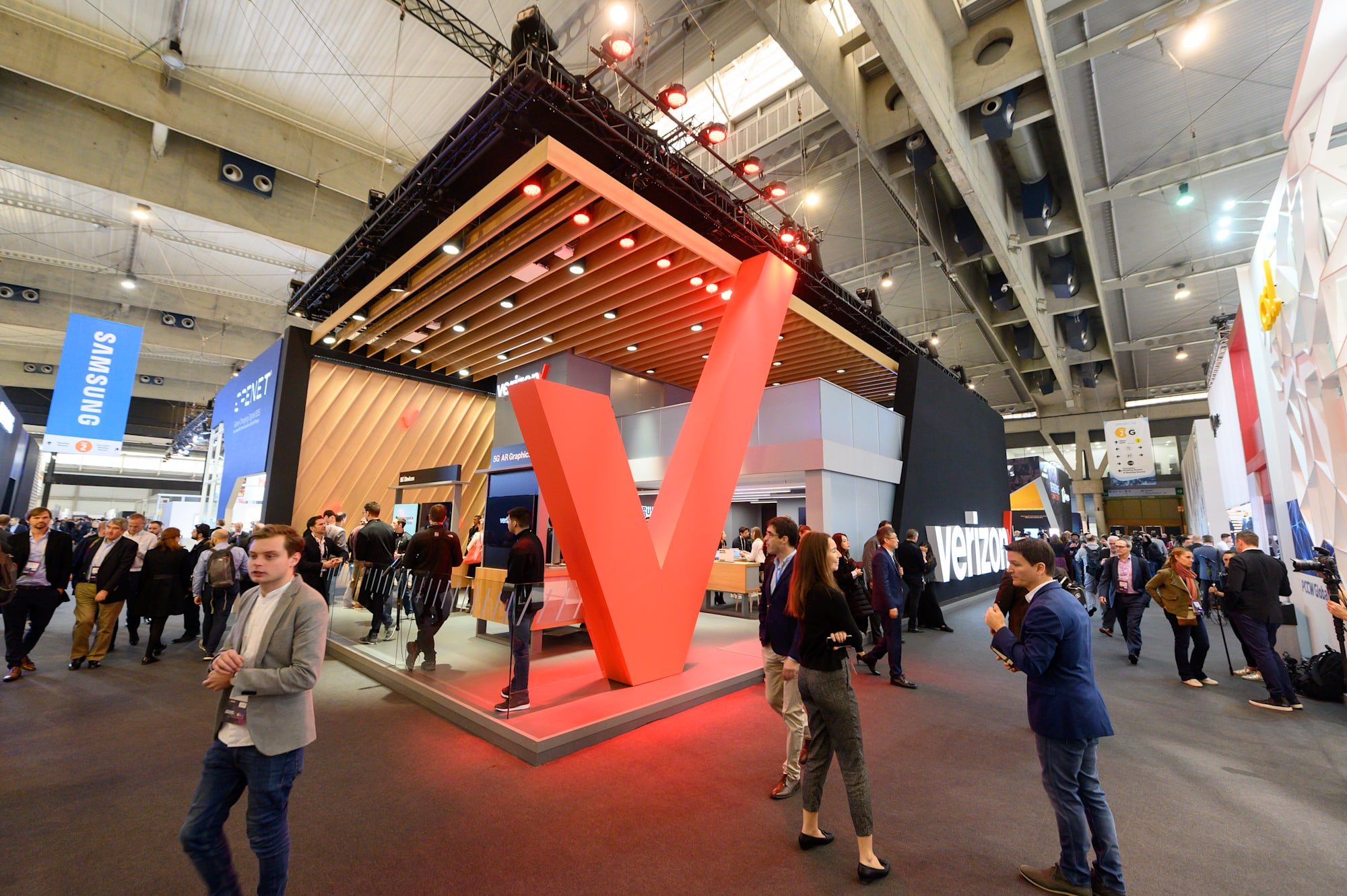 Verizon at MWC 2019