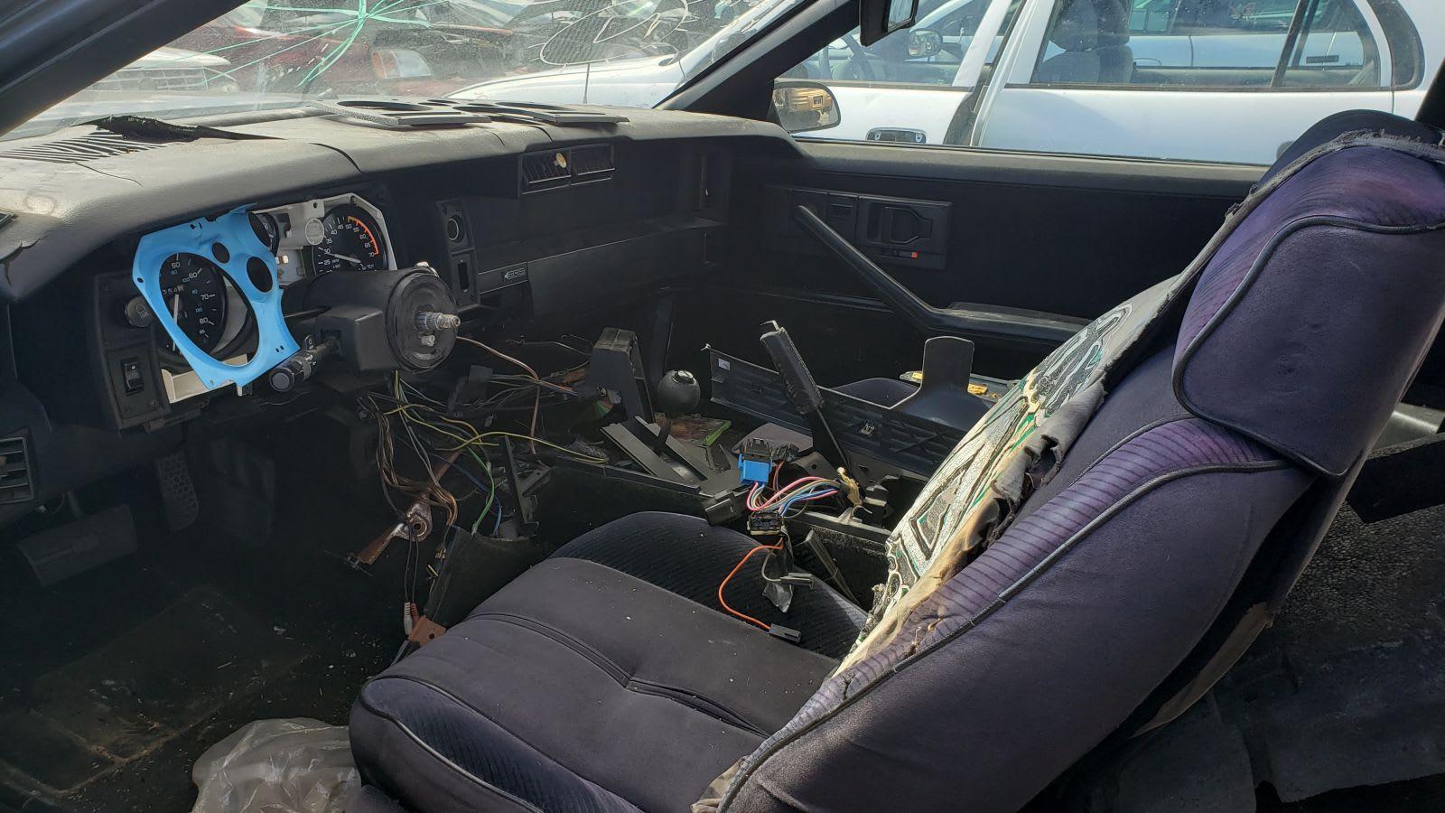 Junked 1985 Chevrolet Camaro Z28