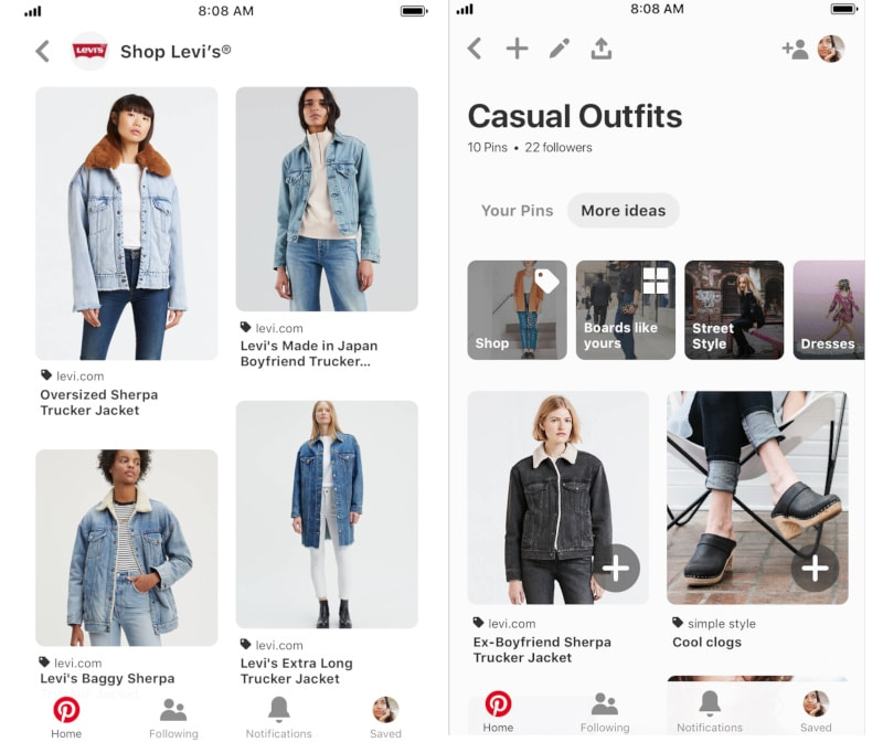 Pinterest's new tools turn it into more of a storefront