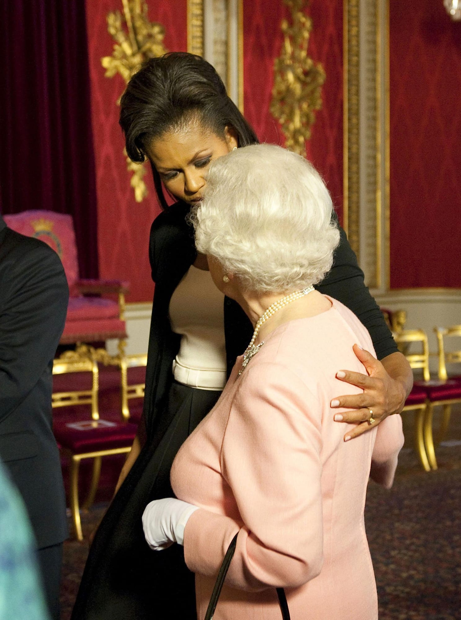 Michelle Obama and the Queen