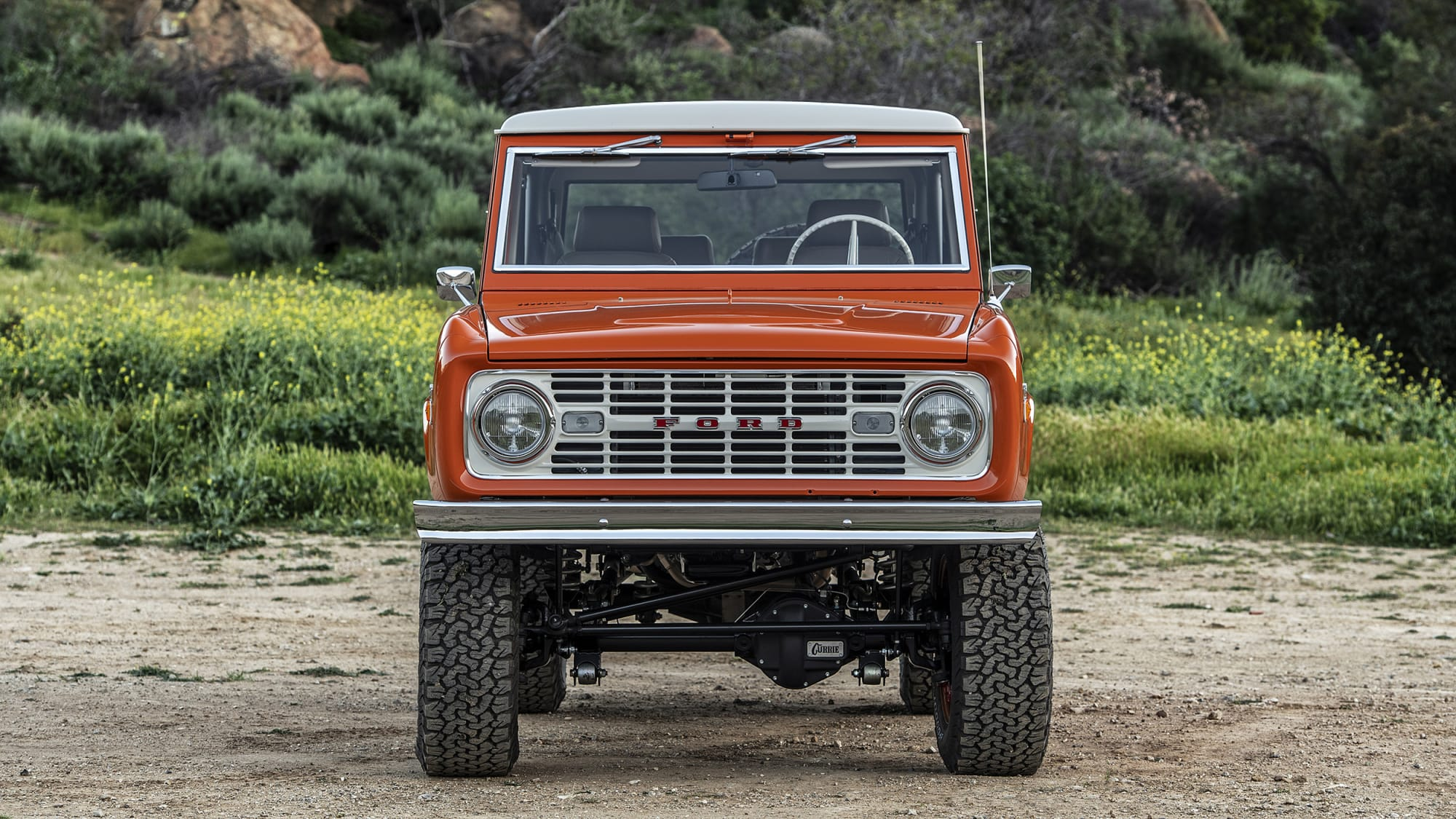 Icon BR Old School Ford Bronco