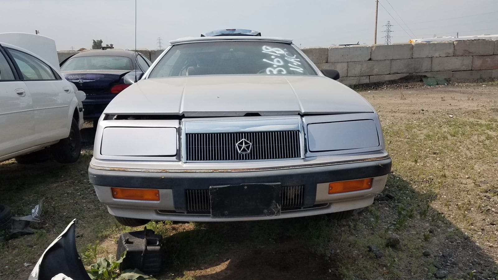 Junked 1991 Chrysler Lebaron Convertible