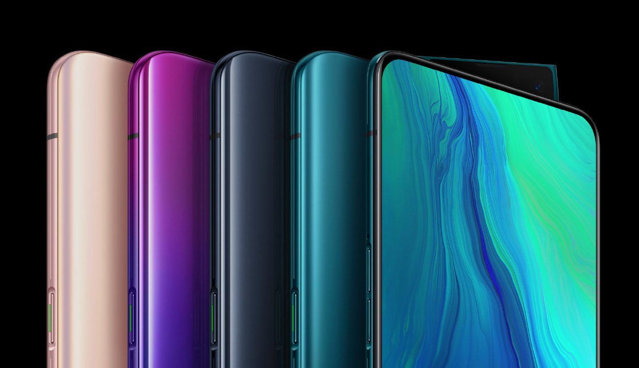 Oppo's Reno 5G flagship has a pop-up camera wedge and 10x hybrid zoom