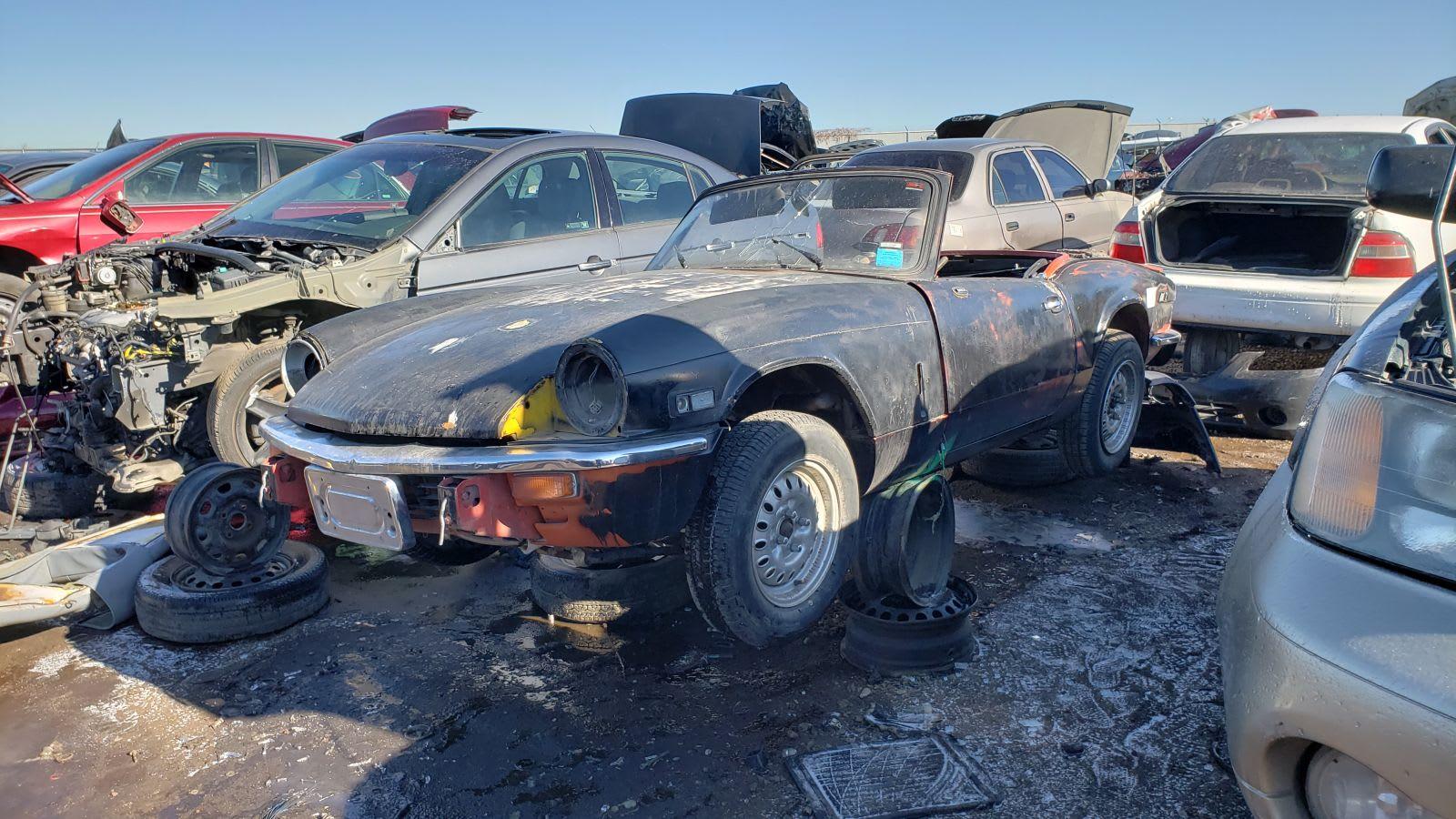 1978 Triumph Spitfire junkyard find | Autoblog