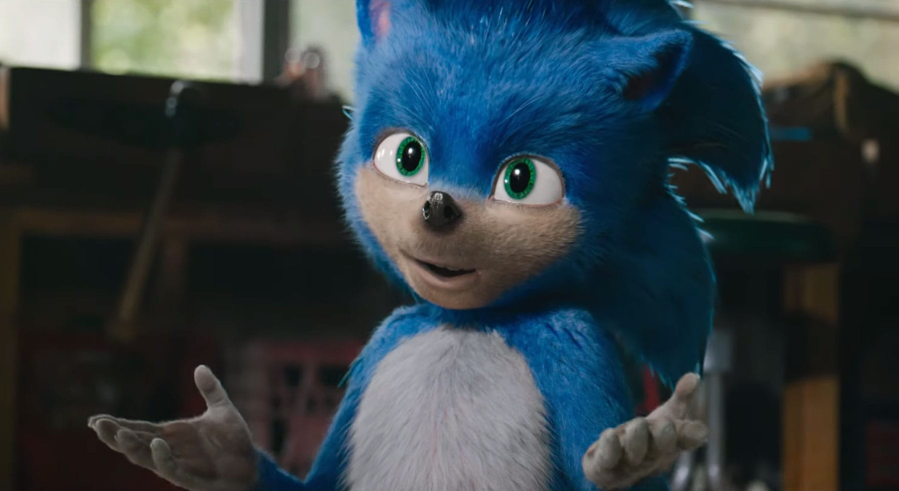 Watch the first trailer for the live-action 'Sonic the Hedgehog' movie