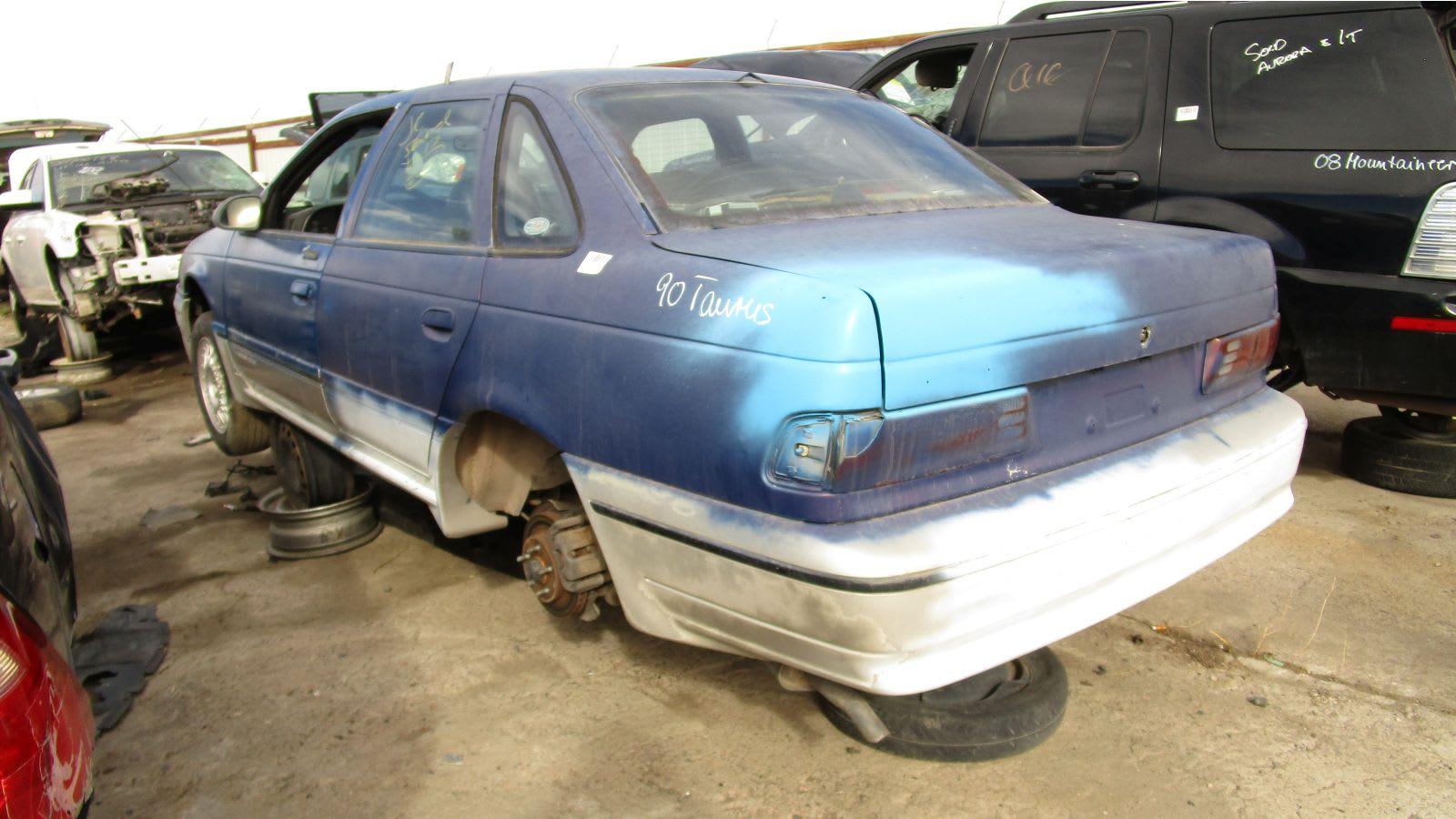 Junked 1990 Ford Taurus SHO