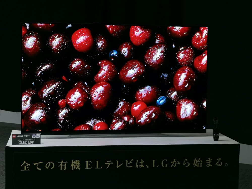 LG OLED 4K TV Japan 2019 Lineup