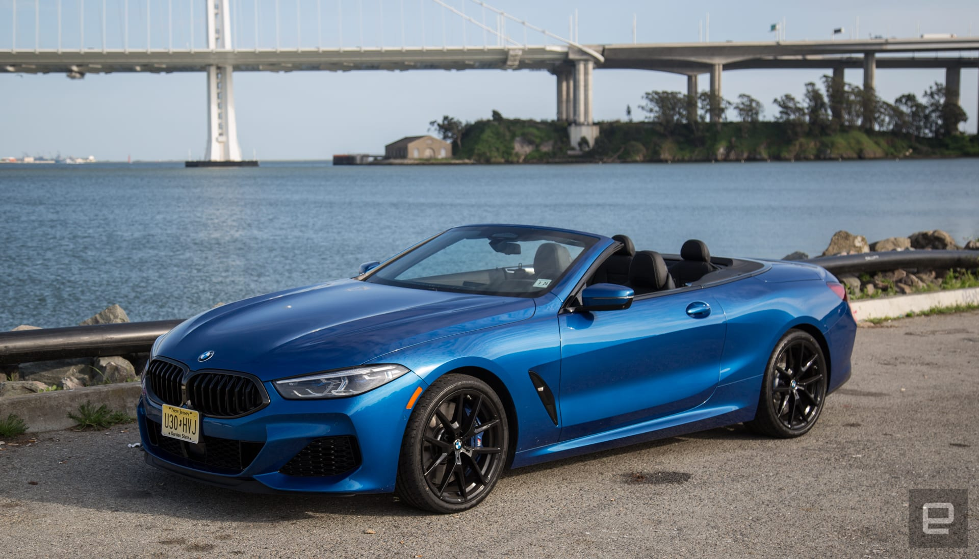 The BMW M850i elevates the road trip with high tech