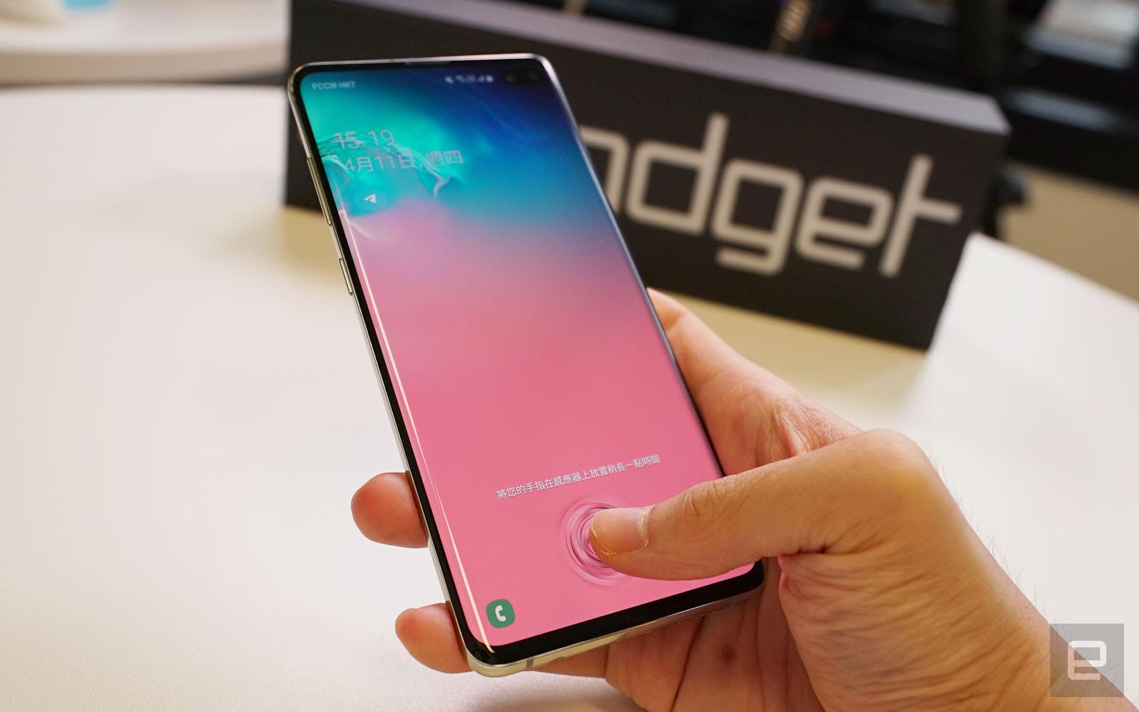 Samsung Galaxy S10+ 评测