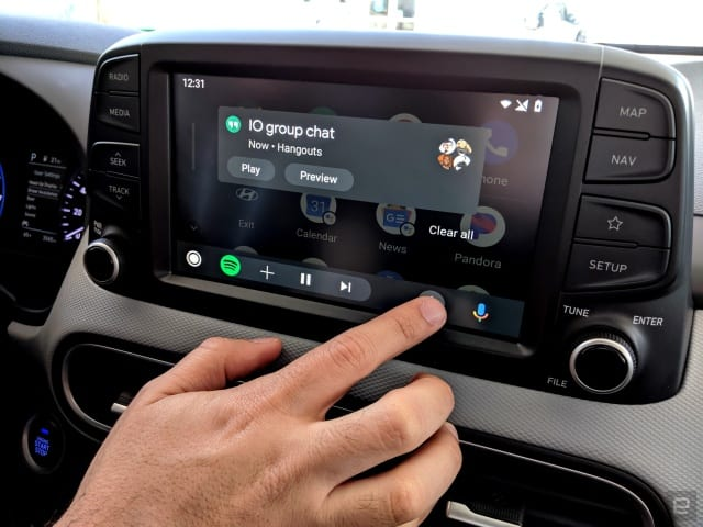 The Morning After: Android Auto's first full redesign in