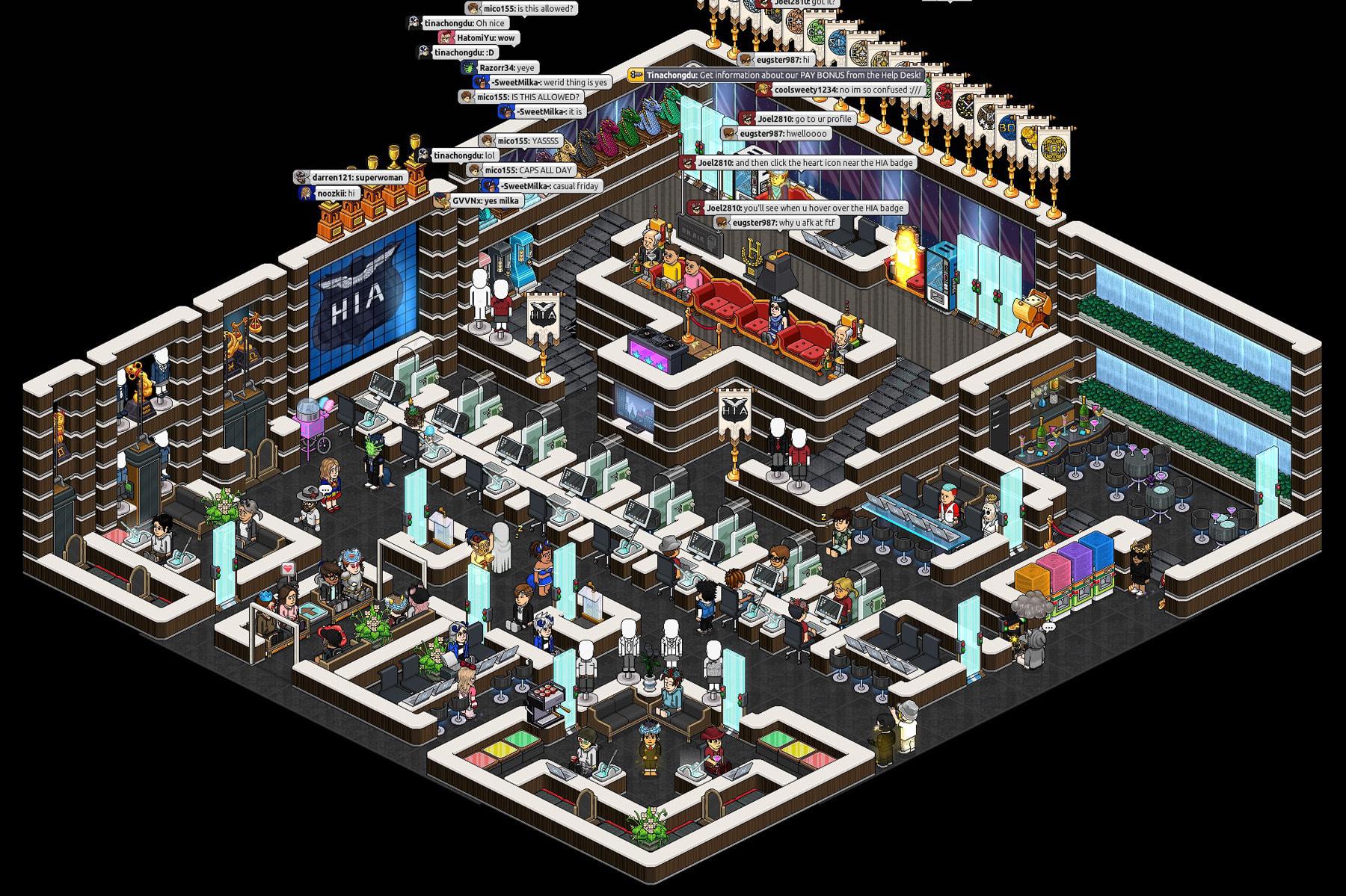 Wandering The Quiet Digital Halls Of Habbo Hotel Engadget