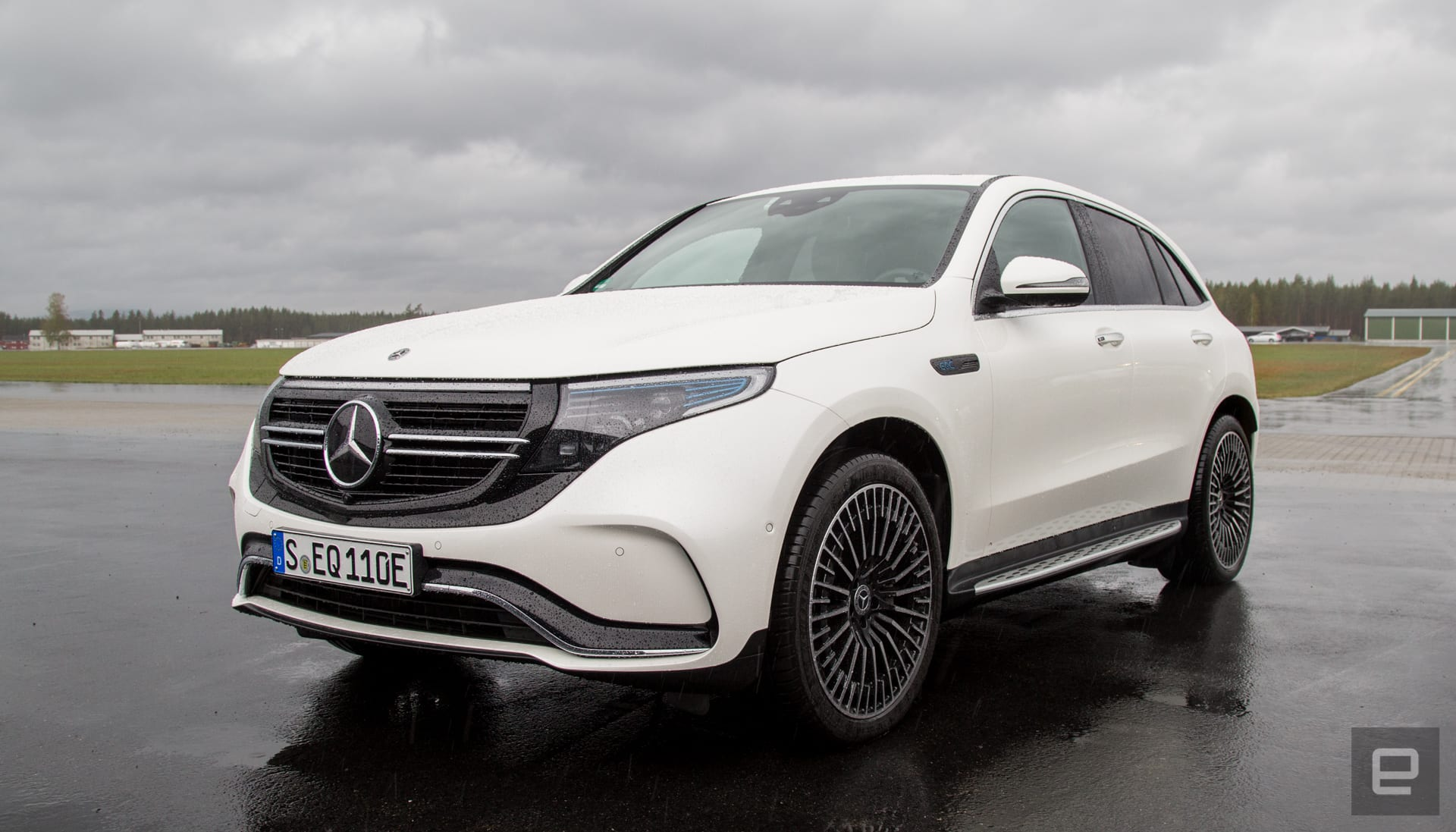 The Mercedes all-electric EQC is luxury first, EV second