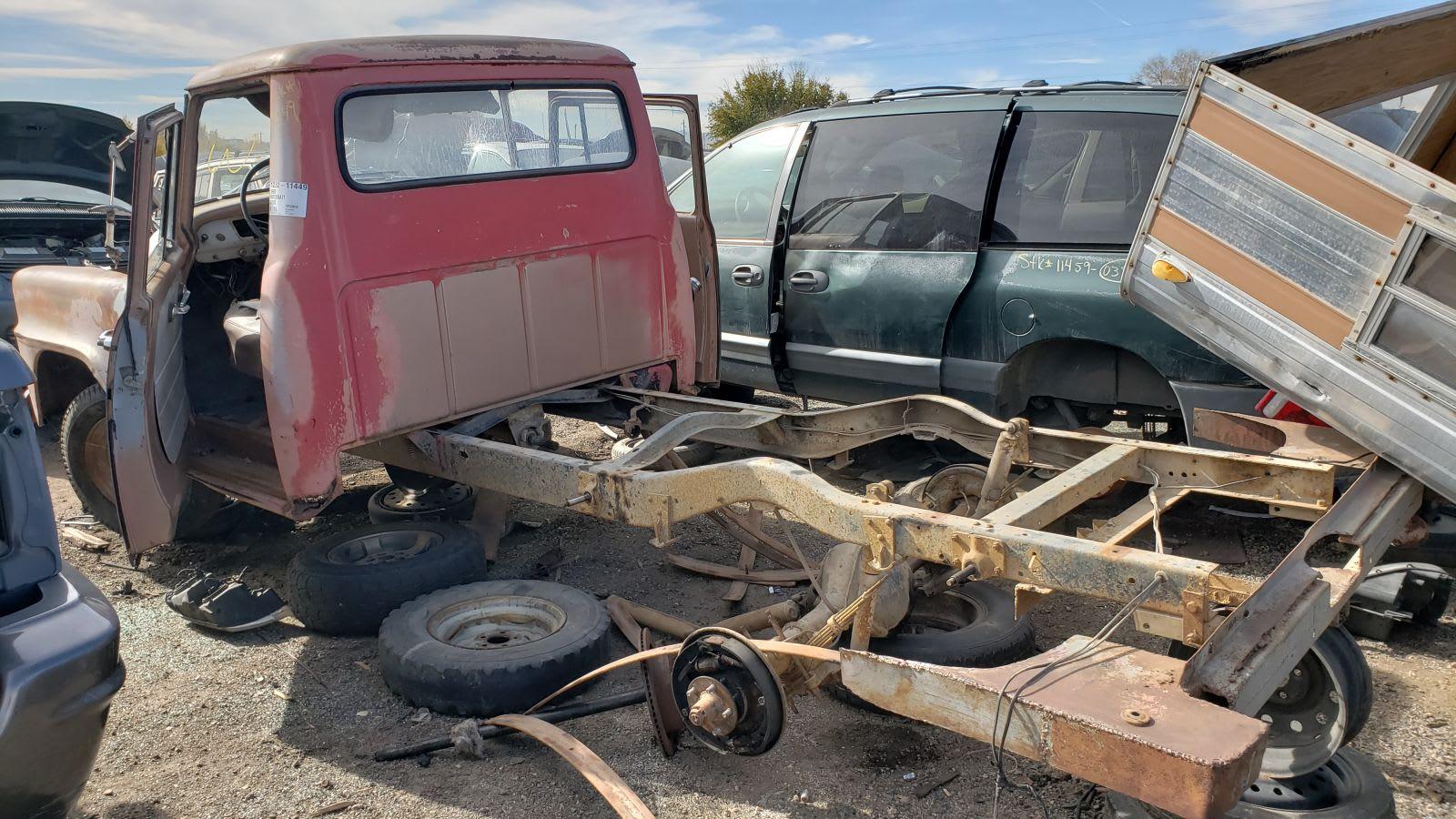 This 1959 International Harvester B 110 Pickup Truck Is A Junkyard Gem Autoblog