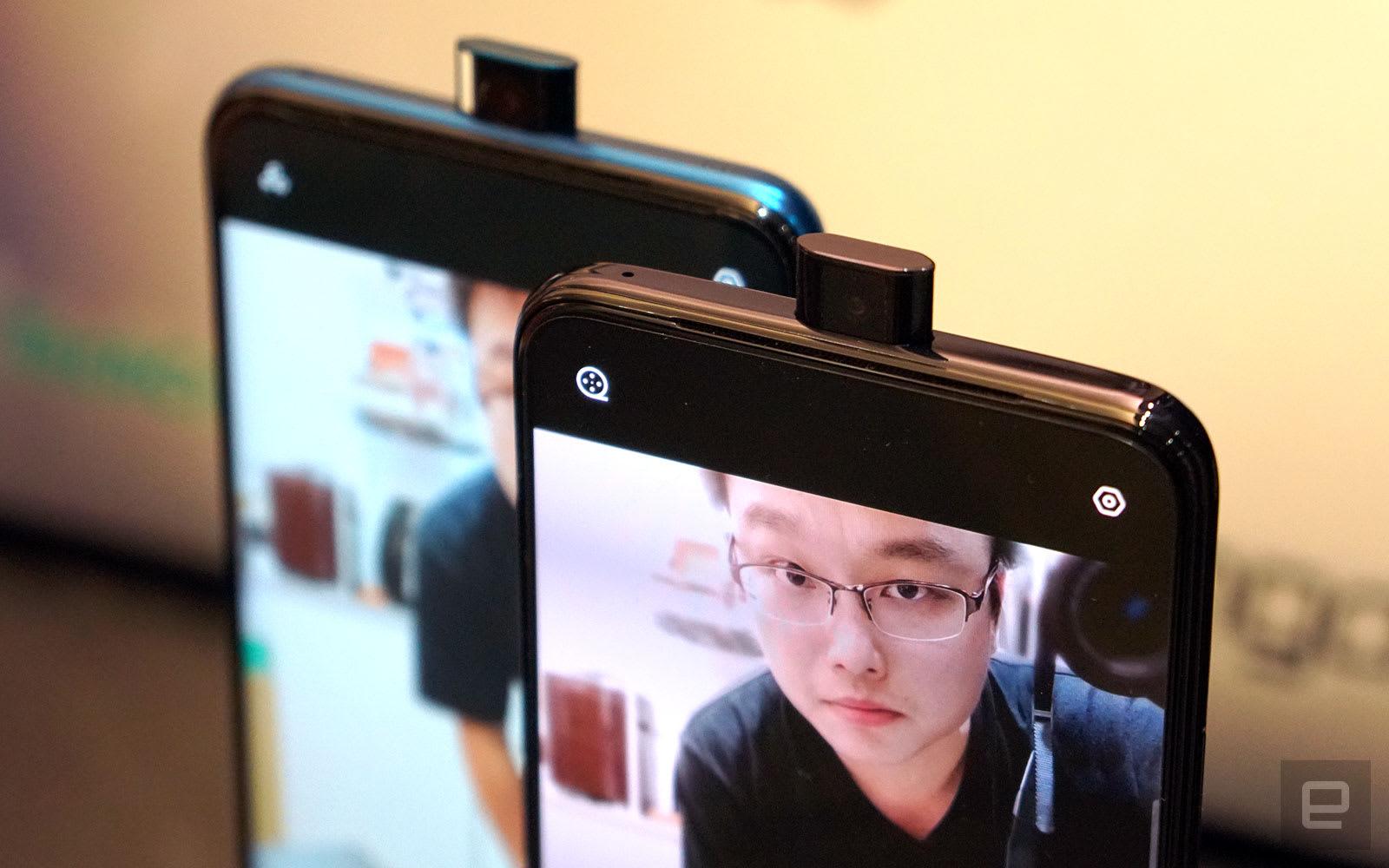 Oppo F11 Pro and Realme X