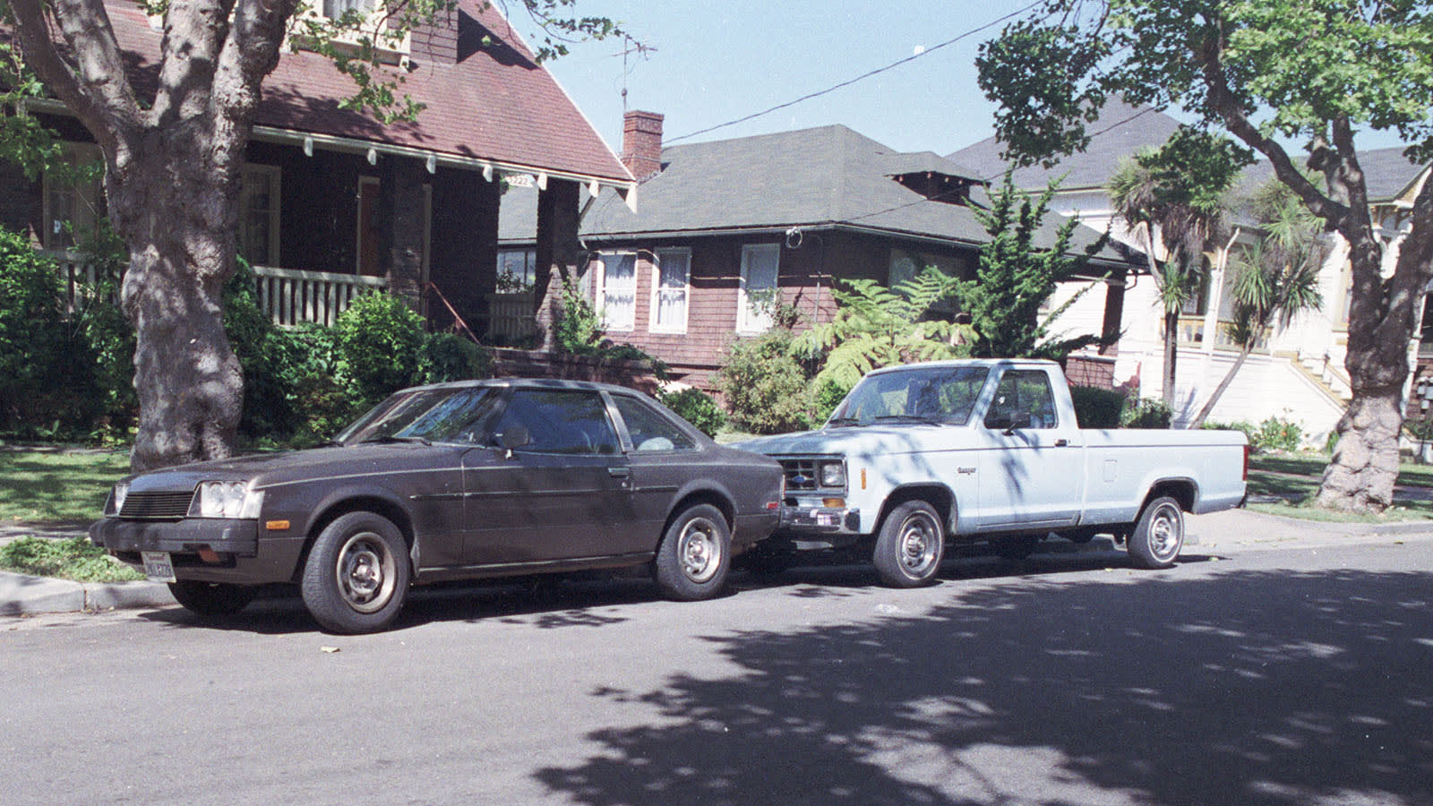 1984 Ford Ranger with Toyota Celica
