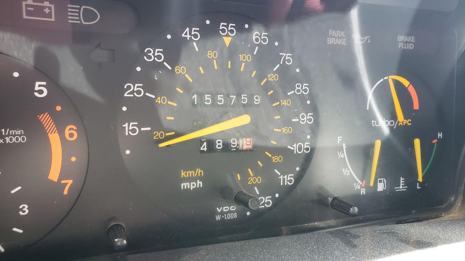 Junked 1986 Saab 900 Turbo