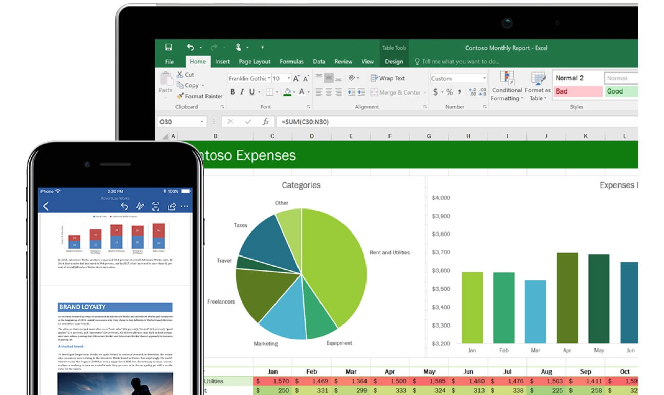 Excel quickly adds data from iPhone photos into spreadsheets