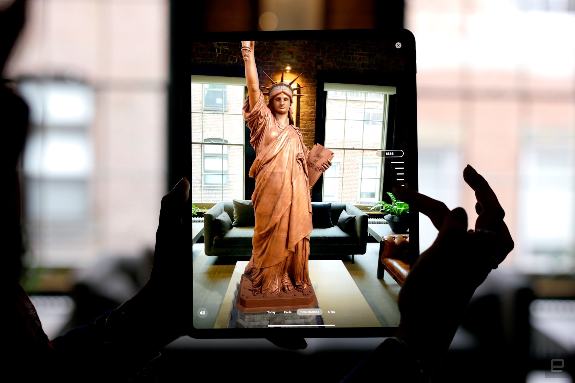Thanks to AR, the Statue of Liberty is more accessible than ever