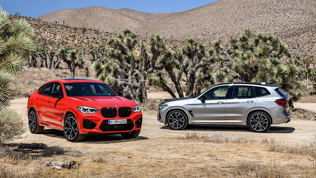 BMW X3 and X4 M