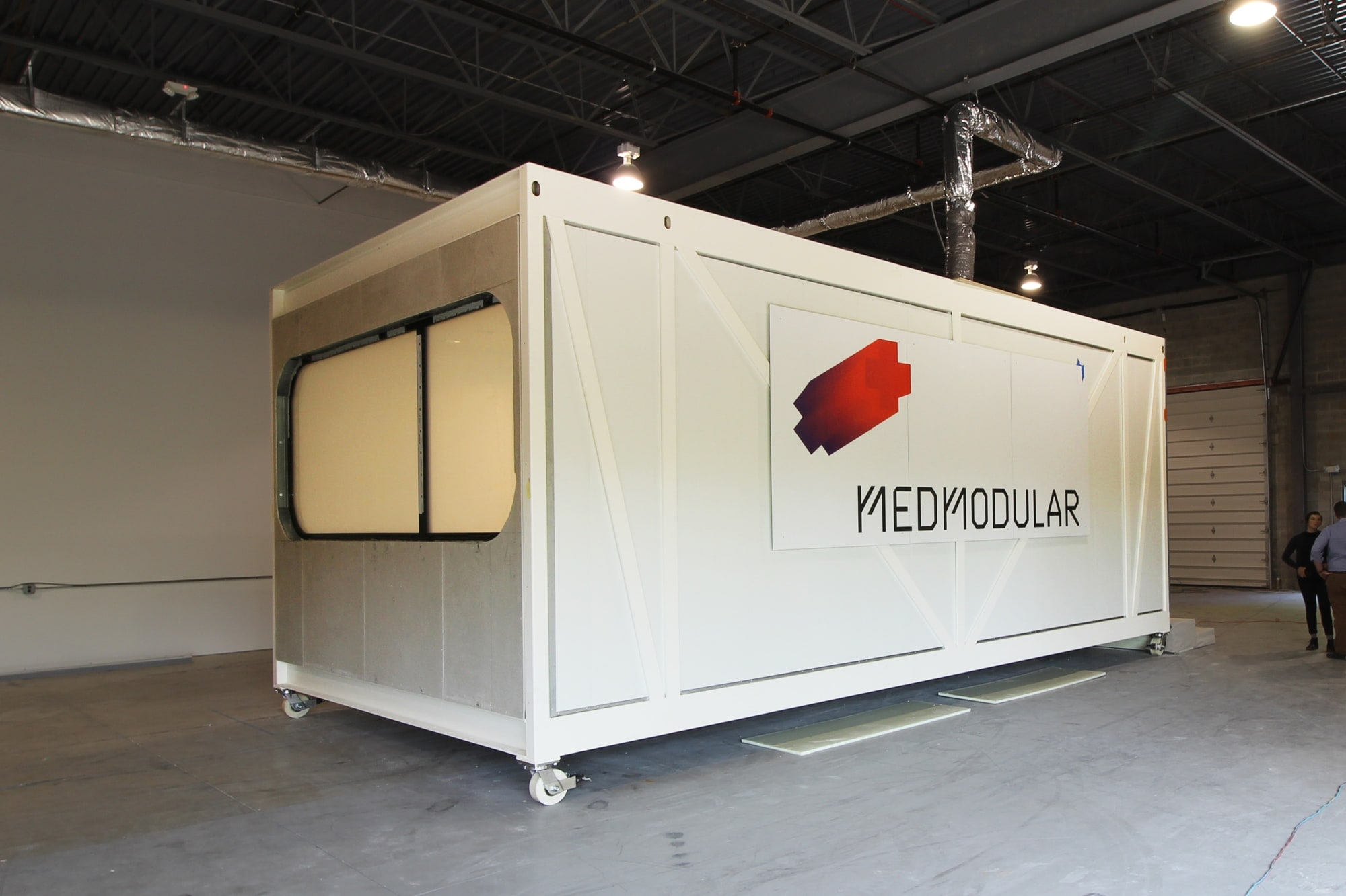 EIR Healthcare MedModular hospital room