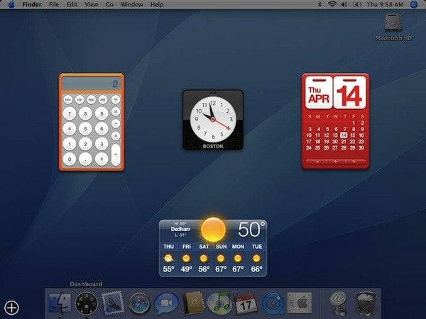 Apple might wave goodbye to Dashboard in macOS Catalina
