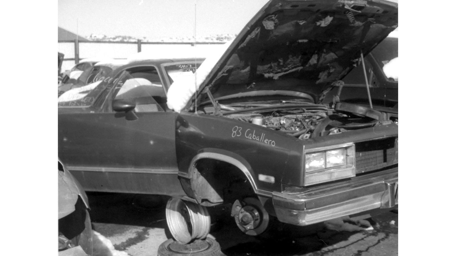 Junked 1982 GMC Caballero