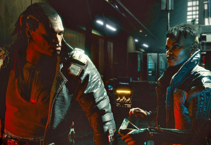 The best weapon in 'Cyberpunk 2077' is a glowing orange garrote