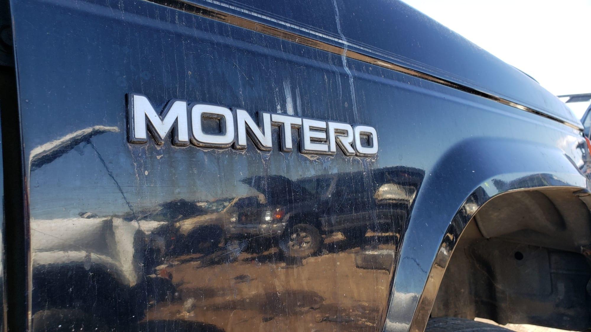 Junked 1990 Mitsubishi Montero