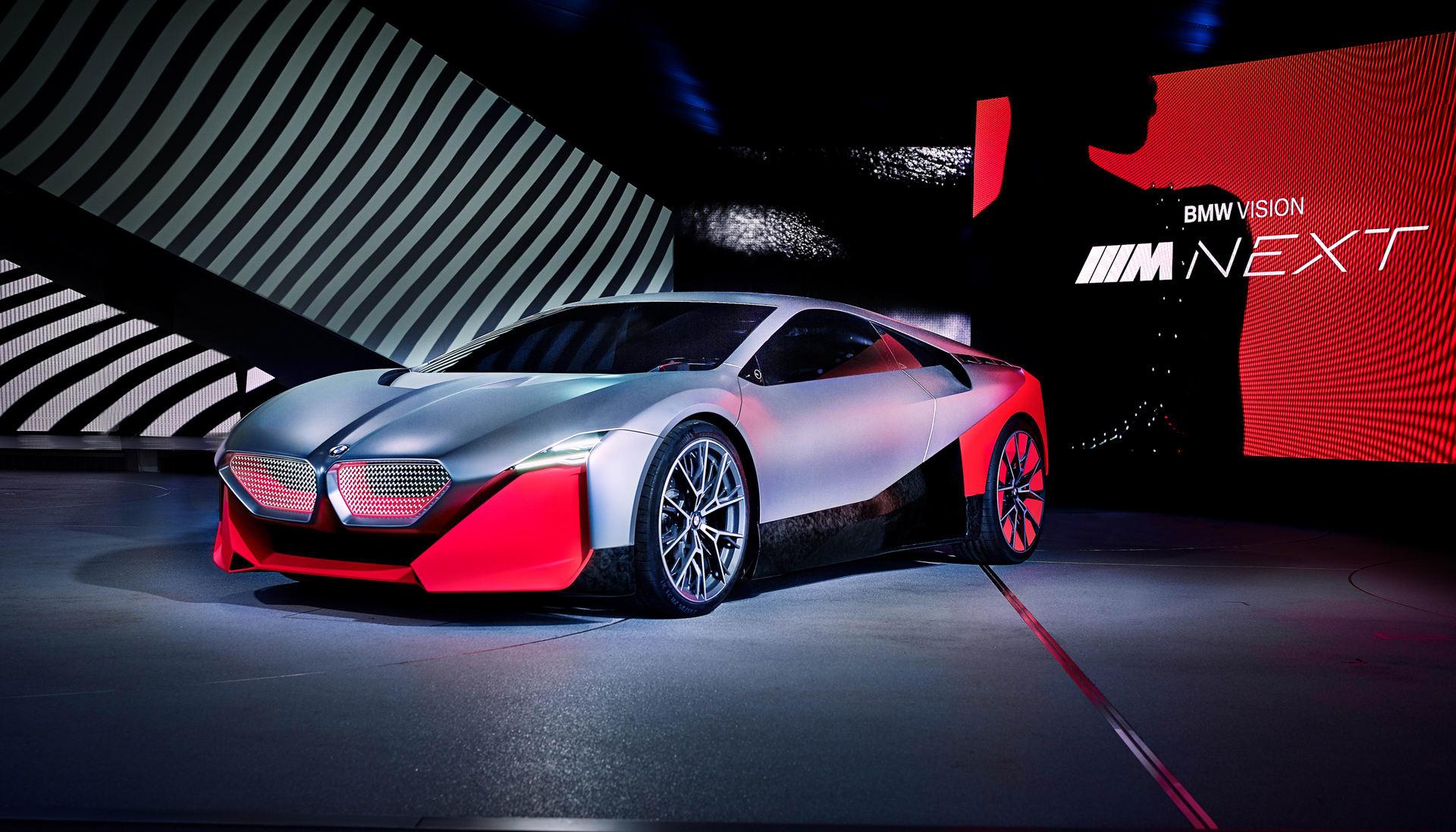 Bmw Vision M Next An Autonomous Car For People Who Love Driving