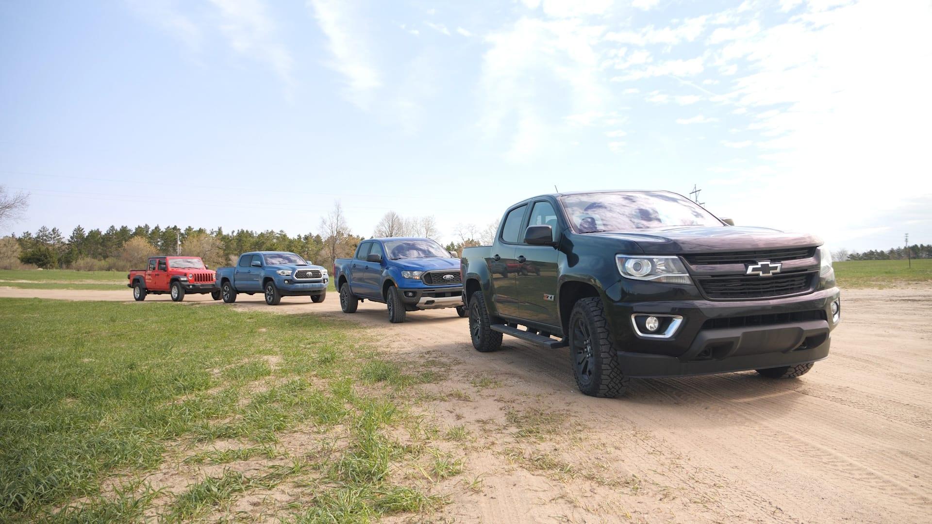 Autoblog Midsize Truck Comparo