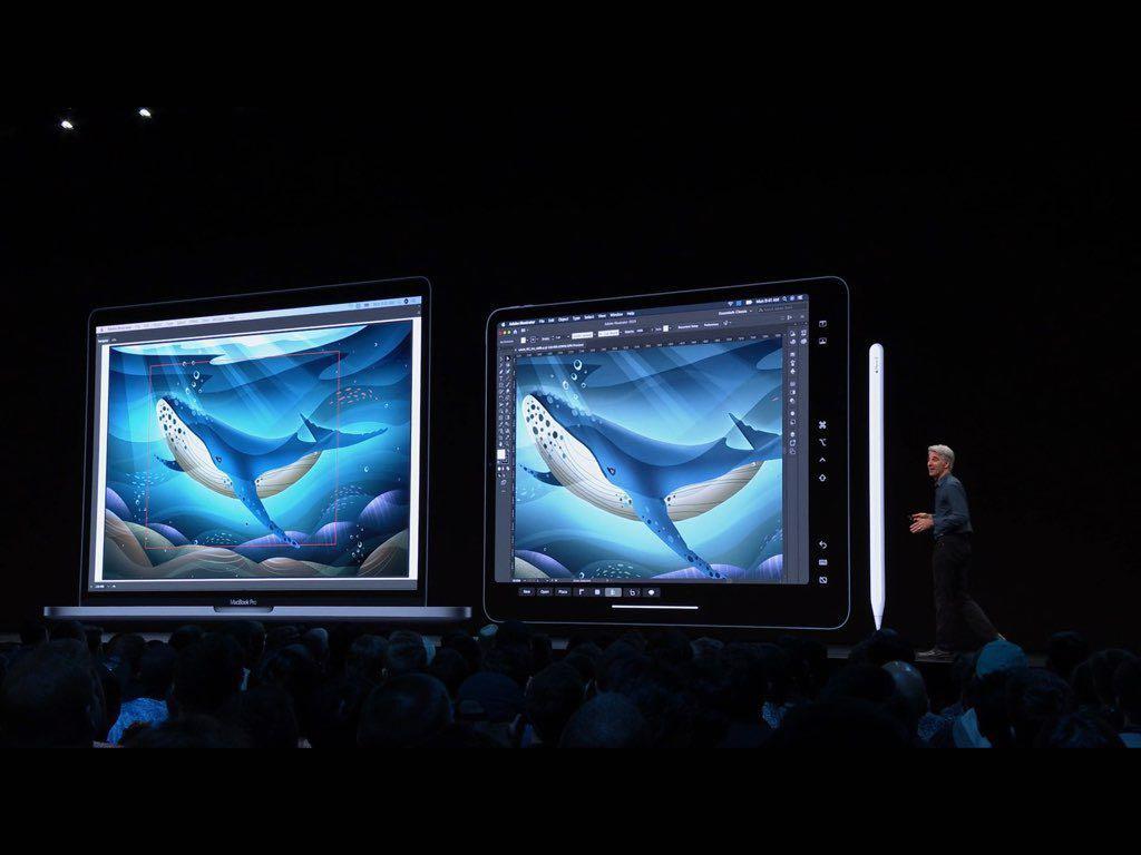 新macOSは「Catalina」(カタリナ) iPadがサブ画面に、iTunes消える #WWDC19